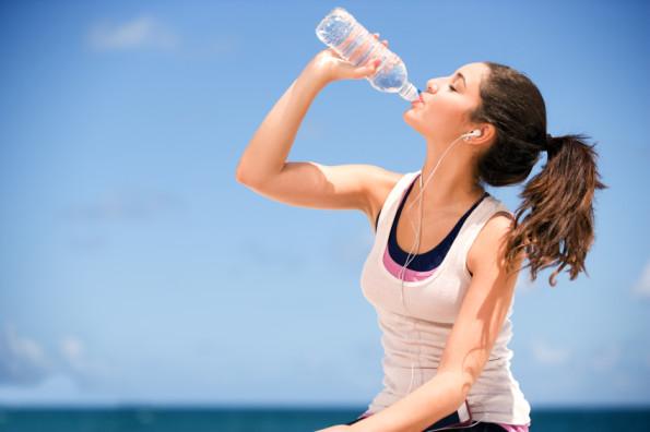 Bebeu água?