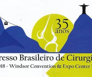 Prof. Dr. Sérgio Piedade comenta trabalhos no 17° Congresso Brasileriro de Cirurgia de Joelho